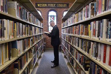 Weston Public Library celebrates 100 years with gathering
