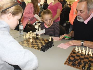 Area students challenge for chess title in Stayner