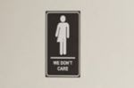 CNE 'We don't care' bathrooms