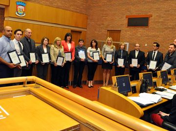 Lifesavers honoured at Oakville council