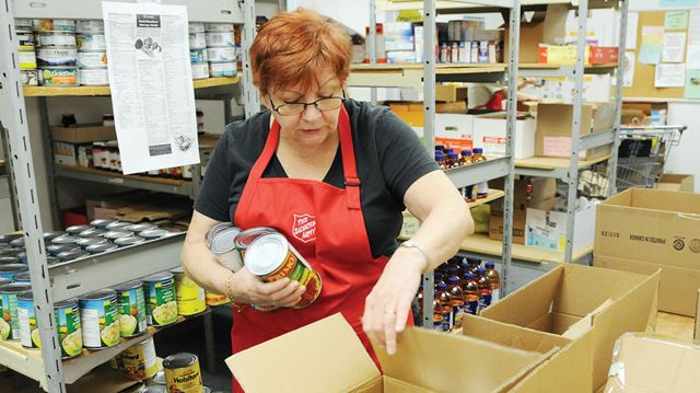 Salvation Army Food Bank Whitby
