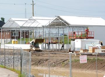 Durham College greenhouse