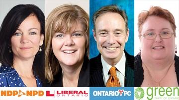 Whitby-Oshawa 2016 Byelection Candidates
