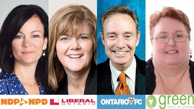 Whitby-Oshawa 2016 Byelection Candidates