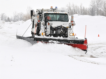 Riding with the snowplows in Scugog