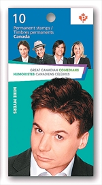 Mike Myers' stamp