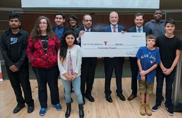 YMCA donation