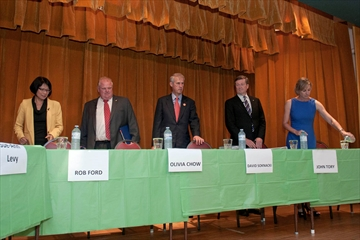 Parkview Hills Community Association all-candidates' debate