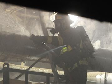 Canada Pallet fire
