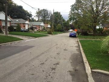 Romano Drive sidewalks