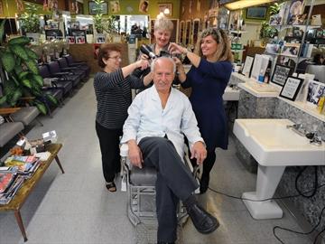 George's barbershop anniversary