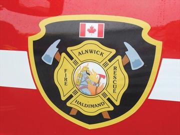 Alnwick Haldimand fire truck