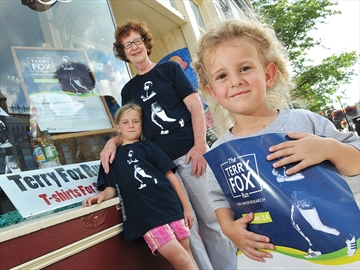 Port Perry's Terry Fox Run