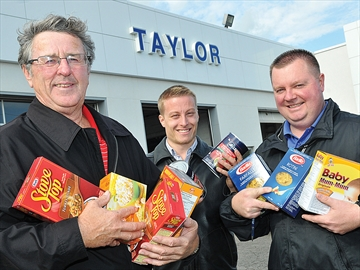 Scugog's Taylor Ford Hunger Heroes for food bank