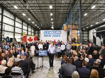 Stephen Harper at Global Emissions Systems Inc.