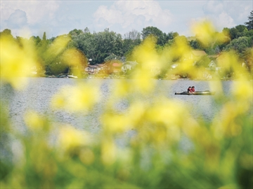 Lake Scugog kayakers