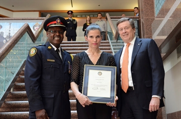 MP Kirsty Duncan among 13 Etobicoke residents to receive Toronto Police Services awards for unselfish acts of bravery-image1