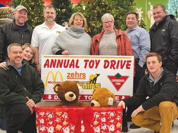 Uxbridge Community Toy Drive Kickoff