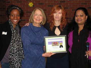 Lisa Ferguson wins Rosie McGroarty scholarship for her community involvement in Parkdale-image1