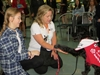 Moxie the therapy dog