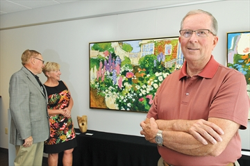 Art collector donates to Scugog Township
