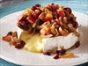 Warm Brie with Caramelized Topping