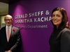 Gerald Sheff and Shanitha Kachan