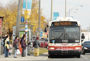Sheppard 85A bus