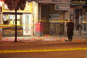 Stabbing on Danforth Avenue