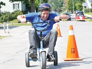 Port Perry's Tour de Perry pedals for United Way