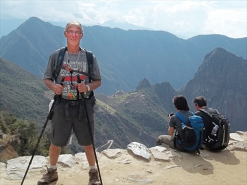 Jim Shortt Machu Picchu trek