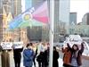 Trans flag at City Hall