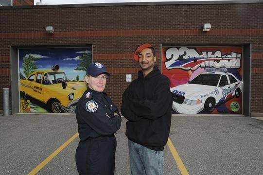 Graffiti Artists Bring Street Art Talent To 23 Division