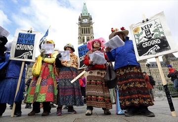 Raging Grannies pipelines