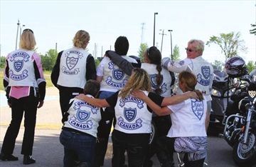 The second annual Royal Flush Poker Run for Victim Services of Leeds and Grenville attracted members of the Eastern Ontario Chapter of the Motor Maids. This year the Motor Maids are supporting and leading the run which is raising funds for the STAR (Supporting Teens at Risk) program offered through Victim Services.