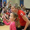 Badminton lesson