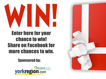 Enter for a chance to win a $25 gift card