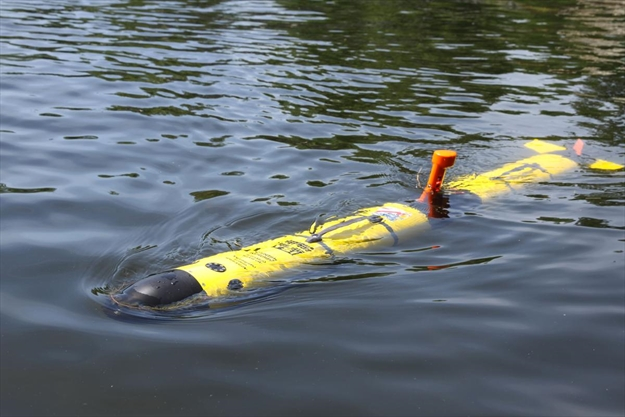 Underwater drone used by Waterloo researchers to study effects of climate change
