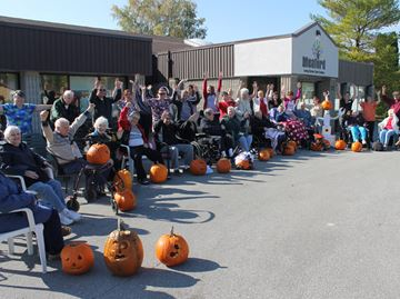 Halloween pumpkins popular at Meaford Long Term Care Centre