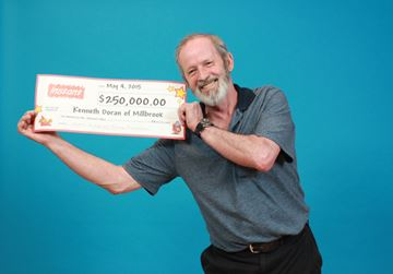 Lottery Win For Millbrook Man