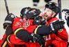 Flames advance to second round of playoffs-Image1