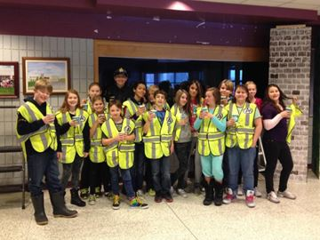 McDonald's, OPP deliver warmth to South Simcoe bus patrollers