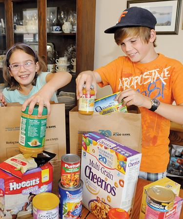Fill a bag, help Barrie Food Bank