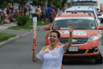 Miltonians welcome Pan Am torch