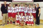Penetanguishene Secondary School senior girls tournament champs in Port Hope