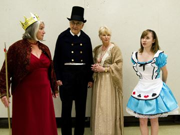 Star Maker Performers present Christmas, through the looking glass