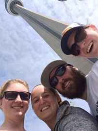 Meaford residents climb CN Tower