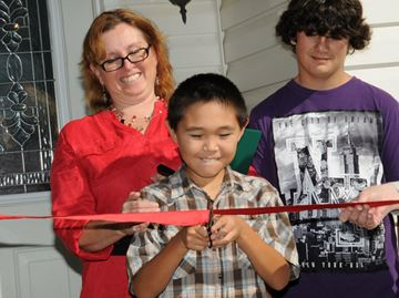 Barrie family moves into Habitat for Humanity home