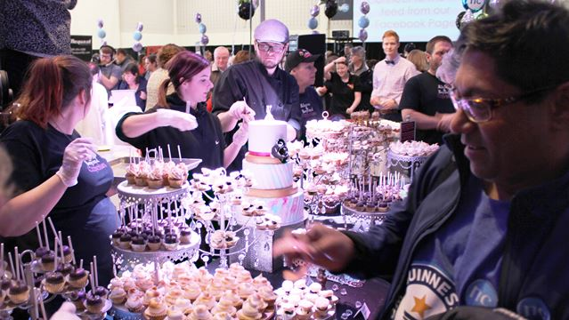 Niagara College gets sweet taste of success in record attempt