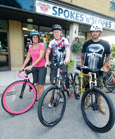 Cycling event Sunday, Aug. 9